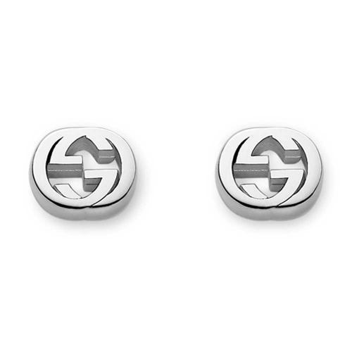 Gucci Interlocking G Stud Earrings YBD35628900100U_0