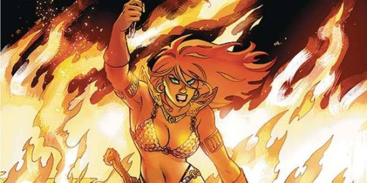 Image result for red sonja #5 2019