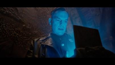 Johann Schmidt holding the Tesseract