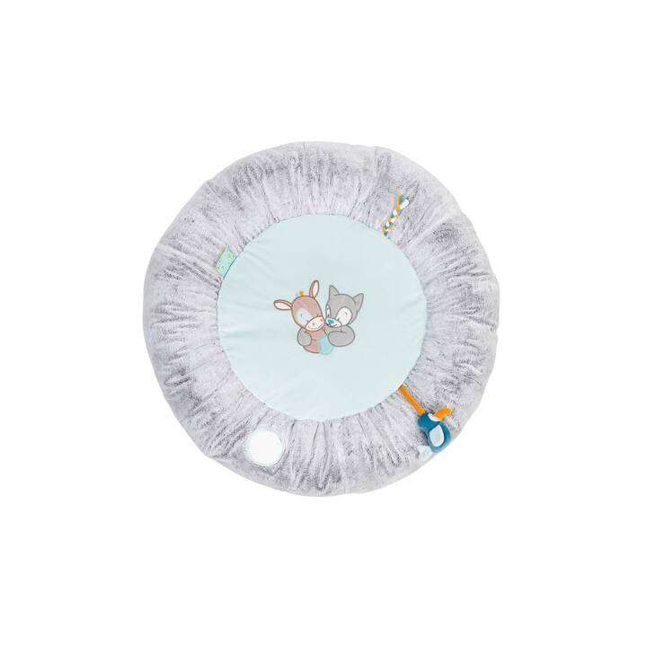 nattou tapis d eveil arche d activite tim tiloo gris bleu