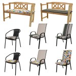 Padded Seat Bench Cushion Chair Sun Lounger Outdoor Garden Patio Furniture Thick Ebay
