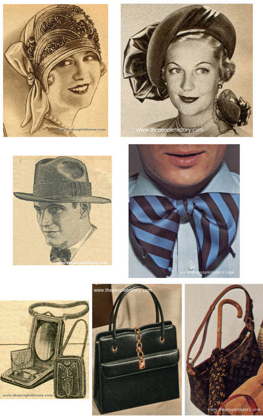 Fashions and Clothes Styles from 50 years what do you remember Fashion Accessories Examples