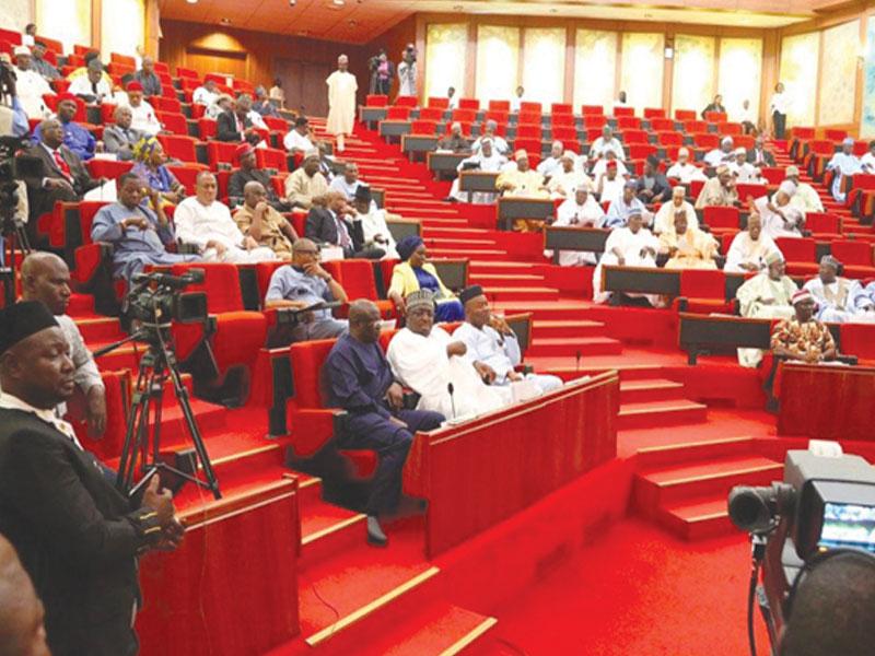 "c069310b senate in session - Senate wants integration of ""Almajiris""into educational system"