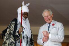 Prince Charles with Emir of Kano Lamido Sanusi.