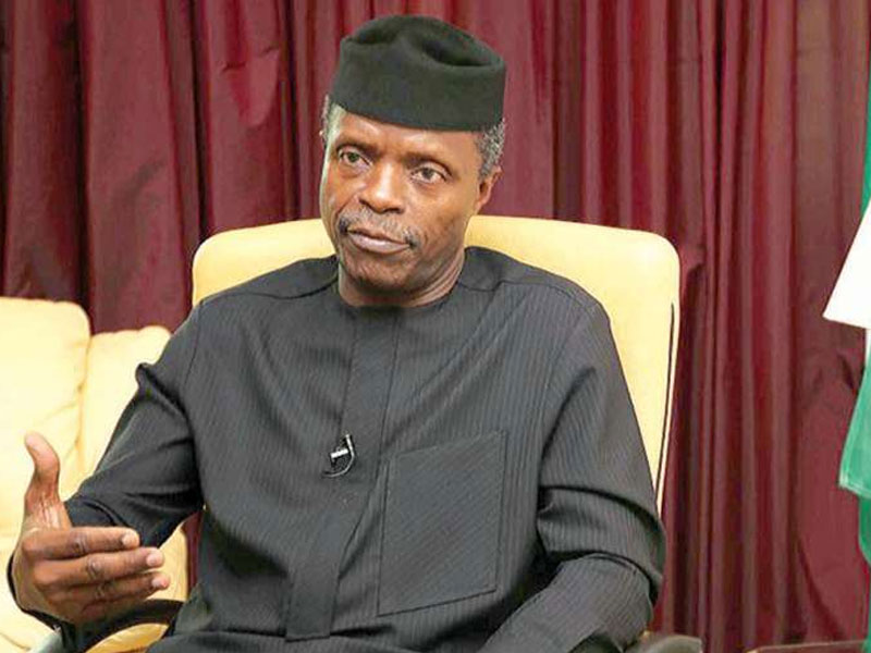 a3088b7a yemi osinbajo - Nigeria needs domestic savings, foreign capital to tackle infrastructure needs- Osinbajo