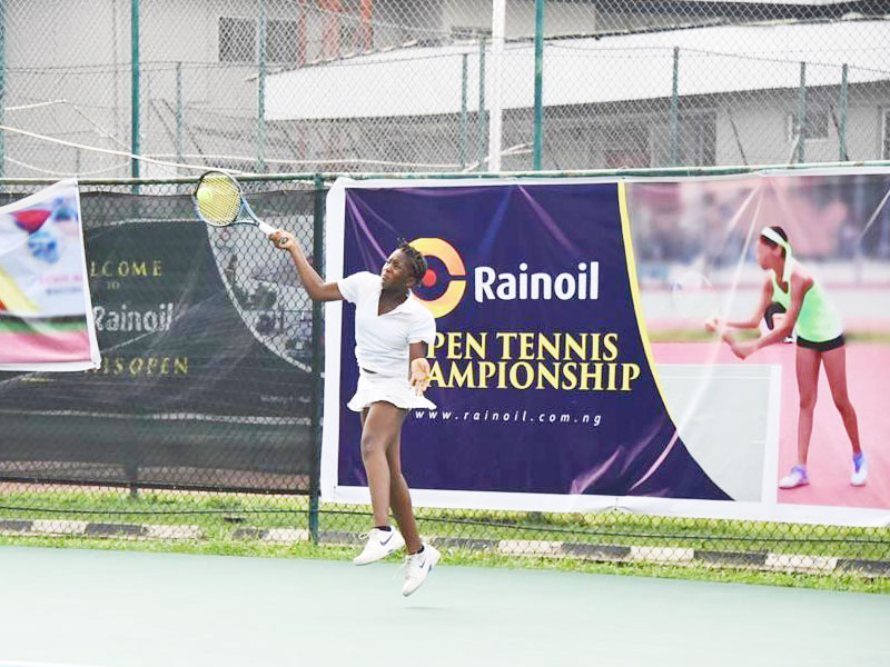 Imeh, Emmanuel Power Into Quarterfinals Of Rainoil Tennis Open