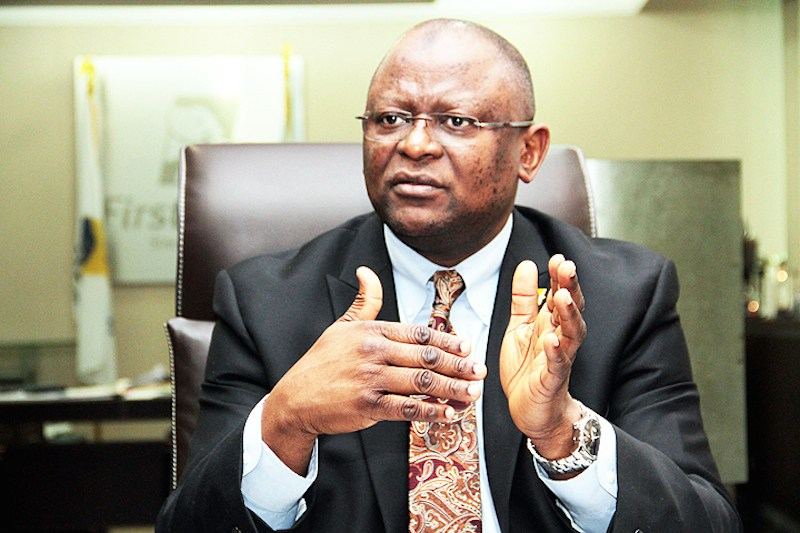 712126cb adesola adeduntan - FirstBank CEO urges financial institutions to partner Fintech on service delivery