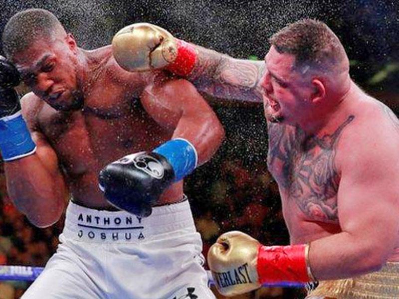 Ruiz Vows to End Joshua's Career in S/Arabia