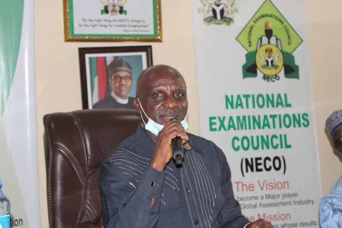 Professor Godswill Obioma, New Registrar /Chief Executive Officer National Examination Council (NECO)