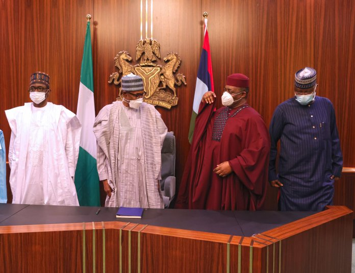 a93833d4 president buhari receives ffk and three others 00a scaled