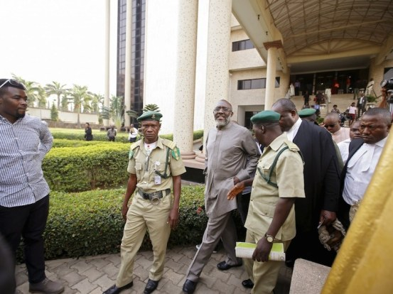 Metuh left the prison in Kuje |  TUESDAY