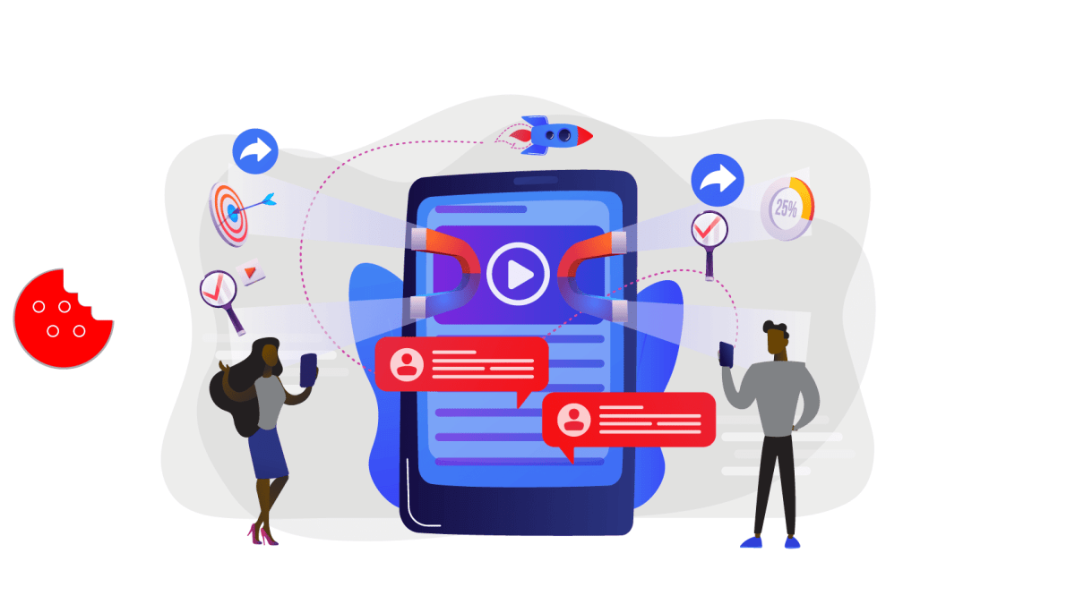 Retargeting or Remarketing with Content Marketing In the first place, content marketing is just the beginning of the process. It gets them to the website, but here's the key. When they come to the website, it produces data.
