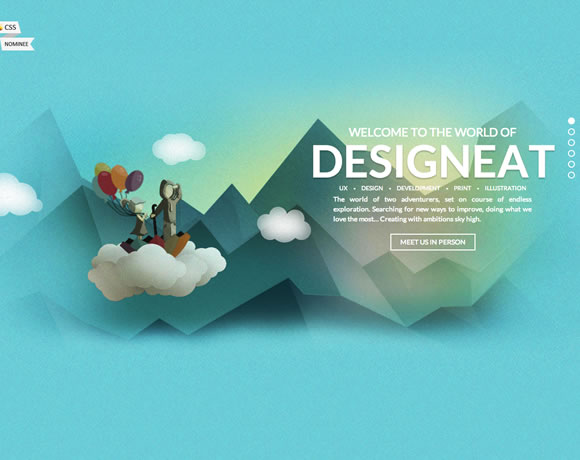 13 Inspiring Examples of Textures and Patterns in Web Design