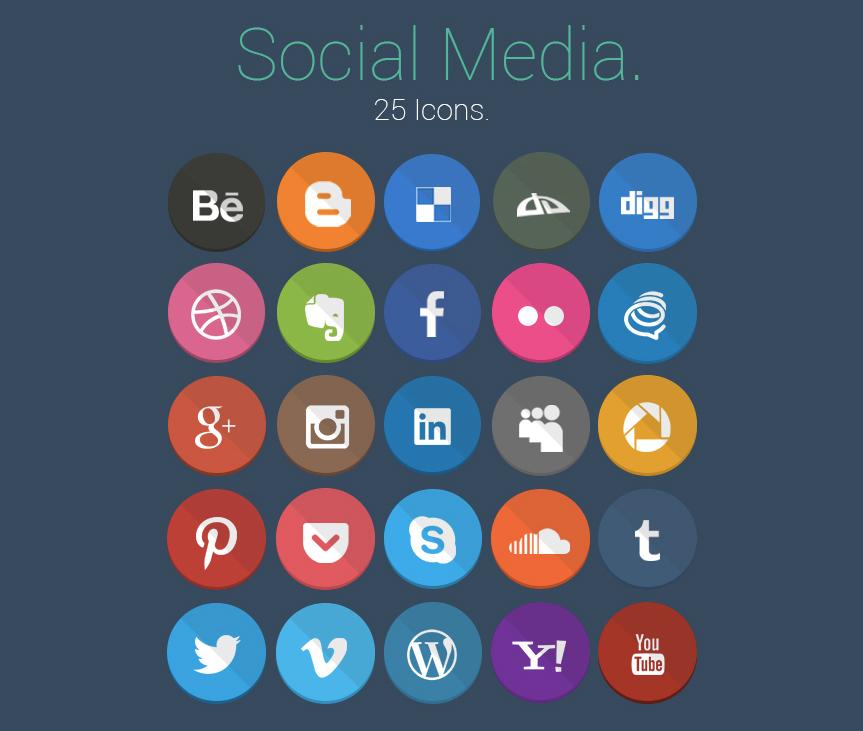 25-social-media-icons