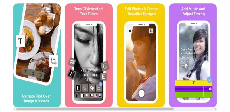 hype type free insta story app
