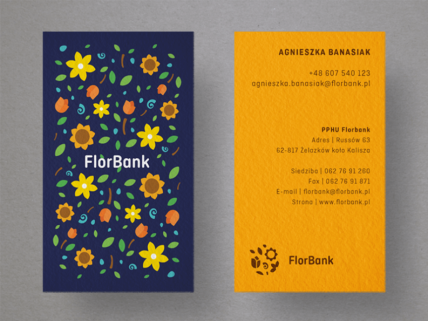 25 creative business card designs for your inspiration florbank business cards colourmoves Gallery