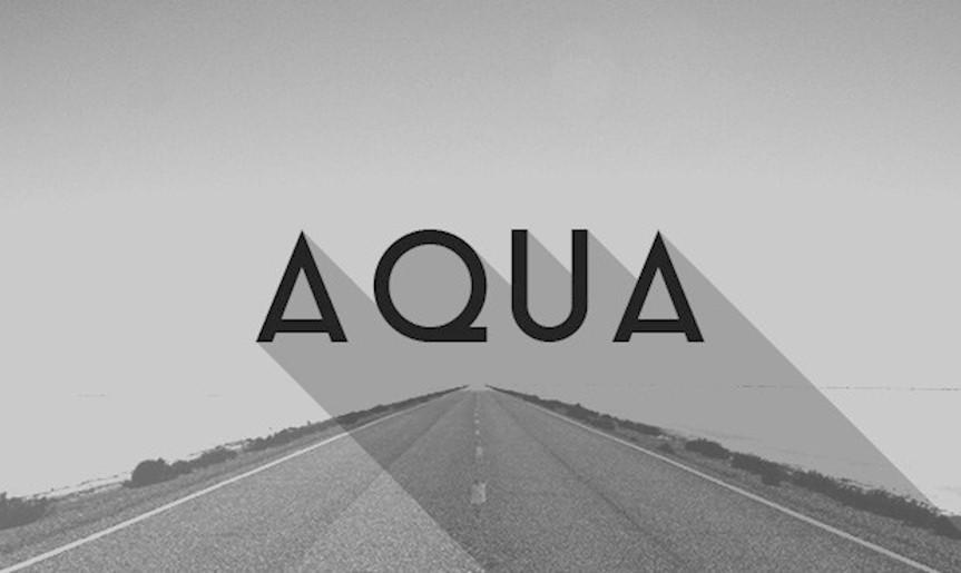 aqua-font