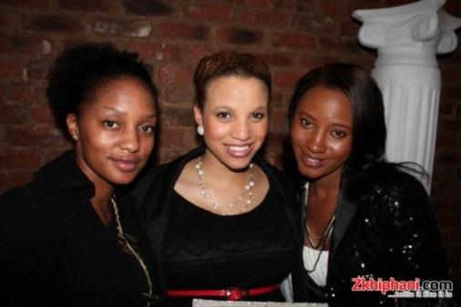 Miranda Mokhele Ntshangase and friends
