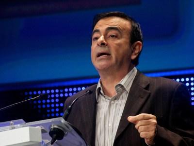 O ex-presidente da Nissan, Carlos Ghosn