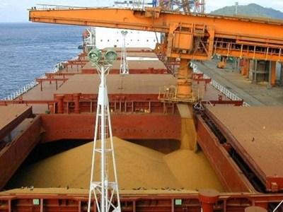 Exportações de soja