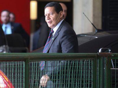 Hamilton Mourão fala sobre prisão de Michel Temer