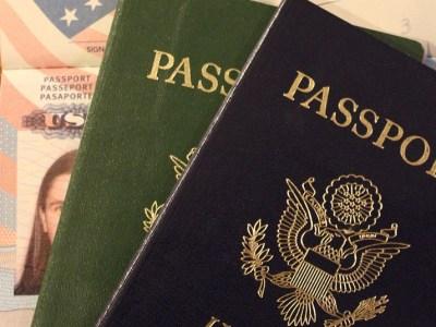 Passaporte EUA visto