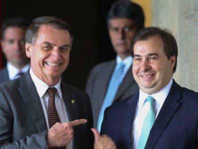 Bolsonaro e Maia descartam nova CPMF em meio à reforma tributária