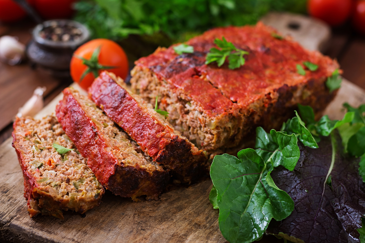 This Vegan Lentil Loaf Takes Comfort To A Whole New Level