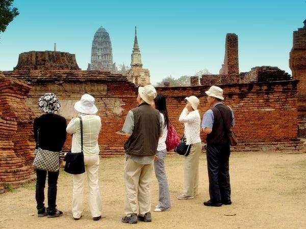touristes thailande