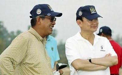 Thaksin Hun Sen golf