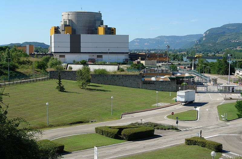 France Superphénix Nuclear Plant