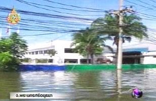 La zone industrielle d'Ayutthaya à 50 km de Bangkok