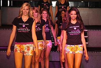 L'élection de Miss Belgique 2012 aura lieu en janvier prochain en Thaïlande