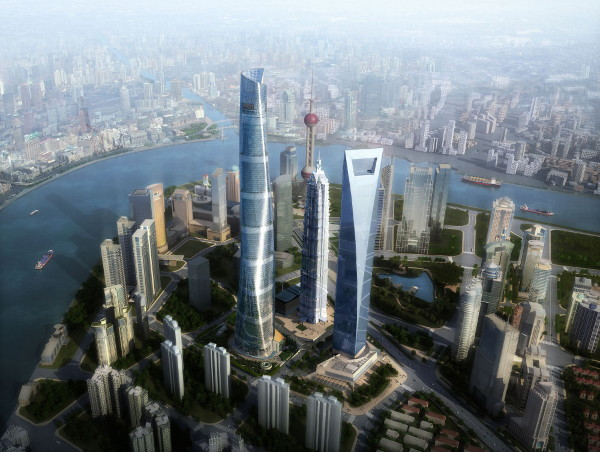 Shanghai Tower city