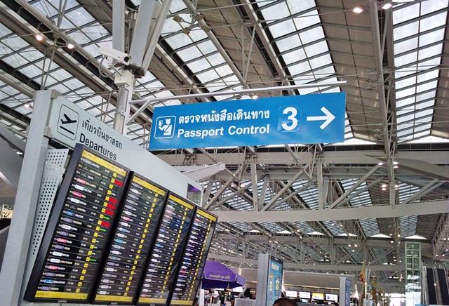 aéroport de Suvarnbhumi