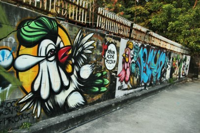 Bangkok Street Art Culture. Photo : Flavien Cuzin