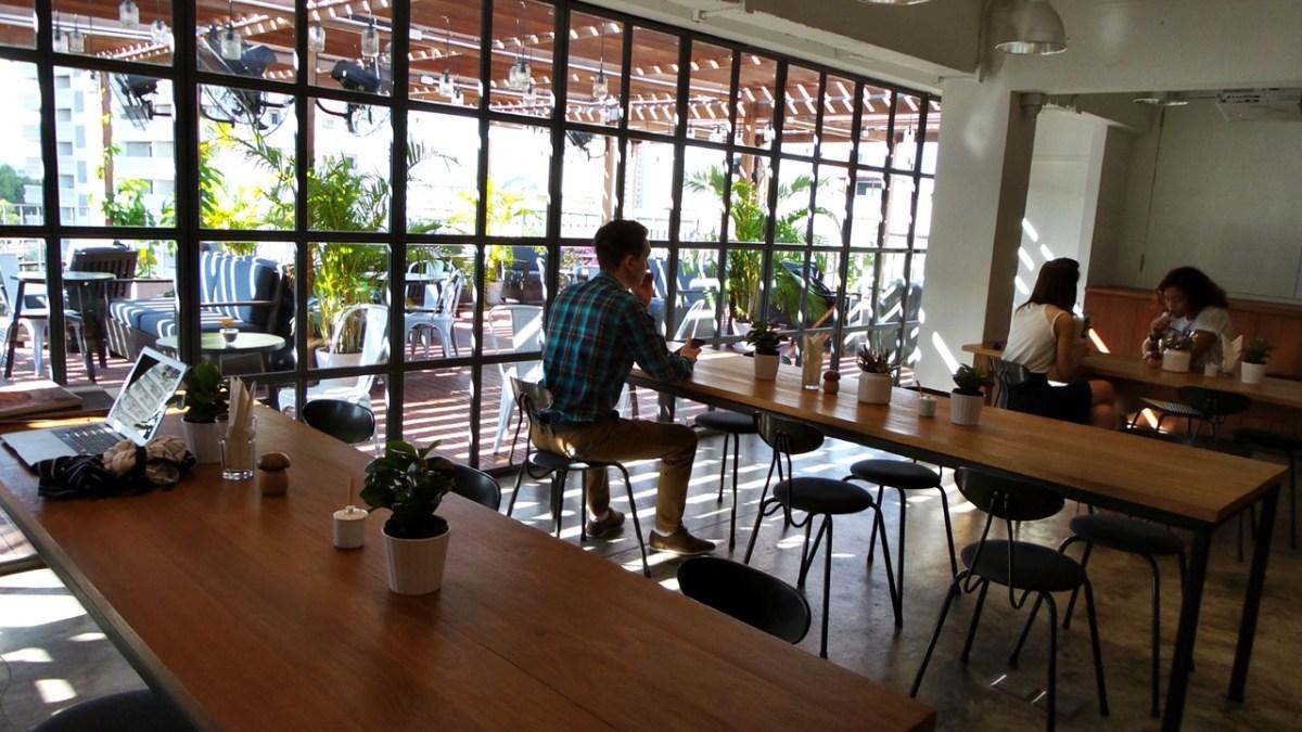 Nomade digital : le bureau partagé
