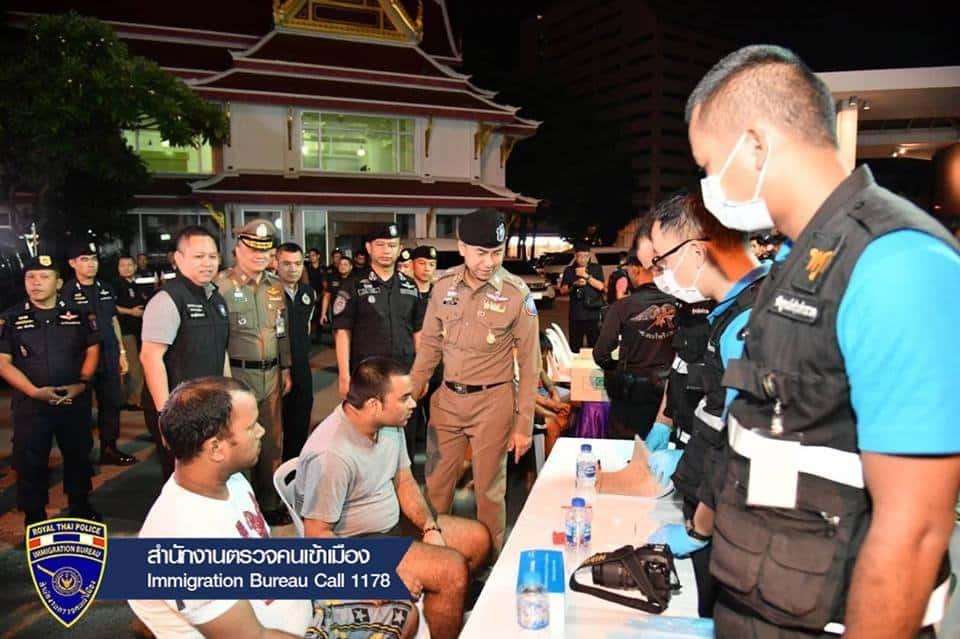 La police thaïlandaise a promis d'expulser 7000 étrangers en situation irrégulière