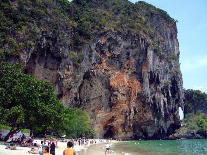 PhraNang Cave beach à Krabi