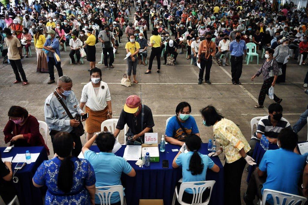 Bangkok Covid-19 réclamation