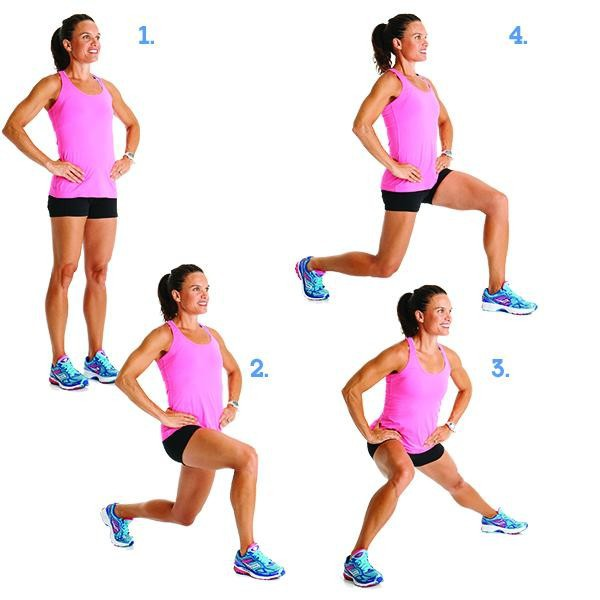 Around-the-world-Lunges