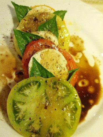 Rainbow Tomato Caprese
