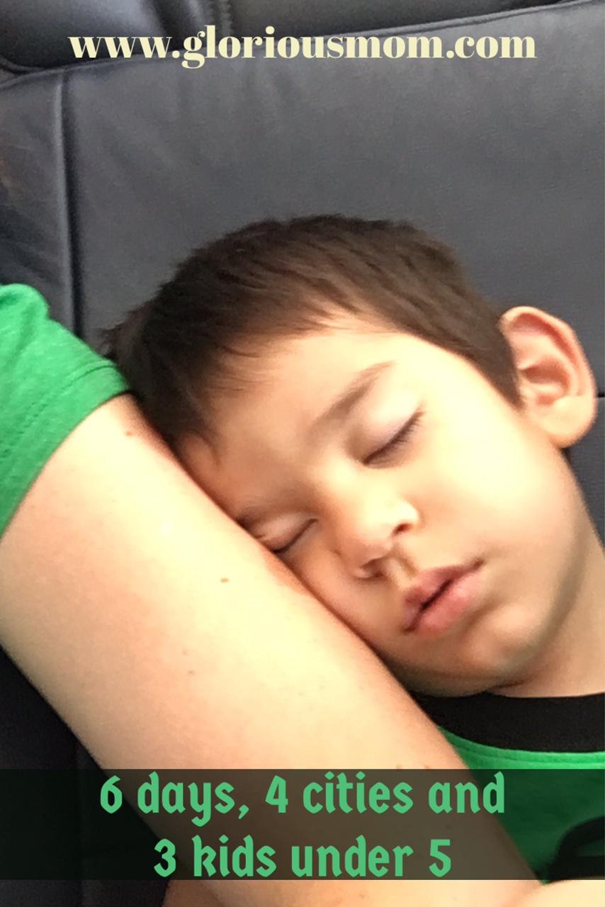 sleepyhead on a plane