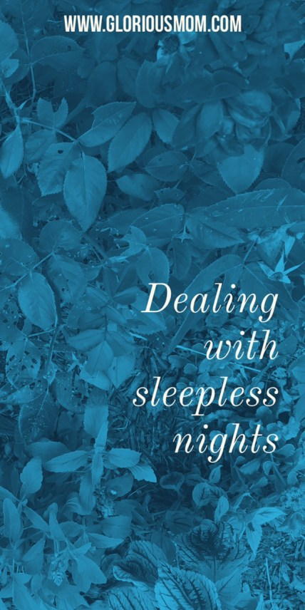 Dealing with sleepless nights