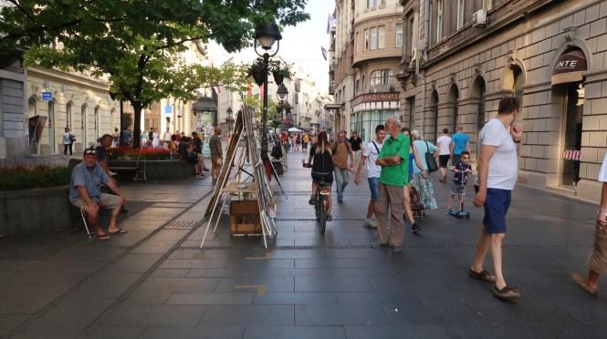 The-shopping-street-in-Belgrade