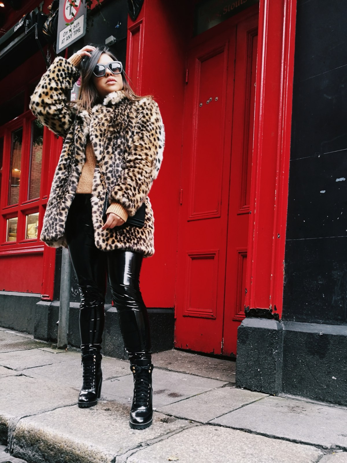 Leopard print coat ideas winter