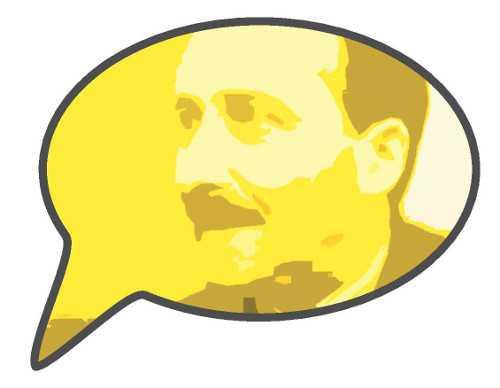 Sprechblase Zweig