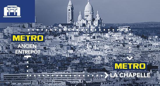 Metro A Paris 18 75018 108 Rue Des Poissonniers Adresse Horaires Telephone 118000 Fr