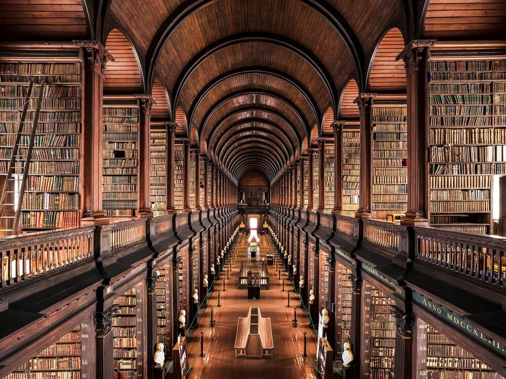 Bildergebnis für trinity college library