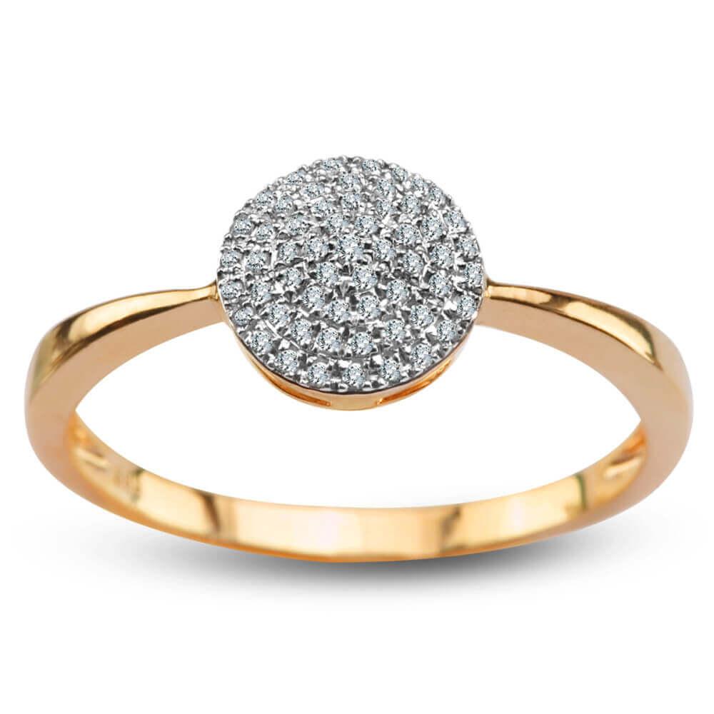 Złoty Pierścionek z Diamentem PXD5820